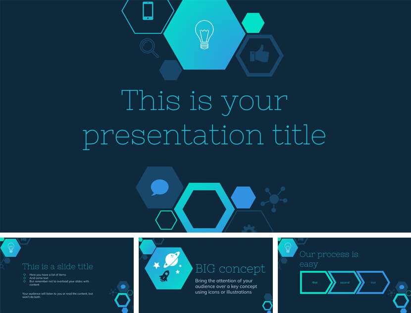 Free Technology Lesson PowerPoint Template