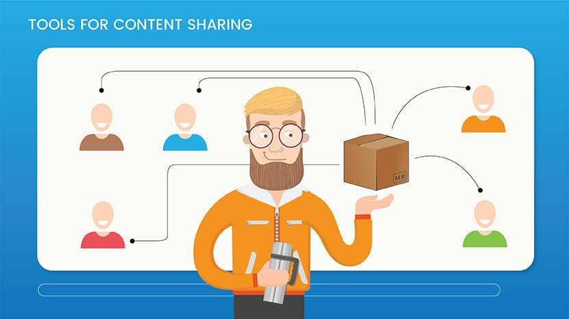 Tools for Content sharing
