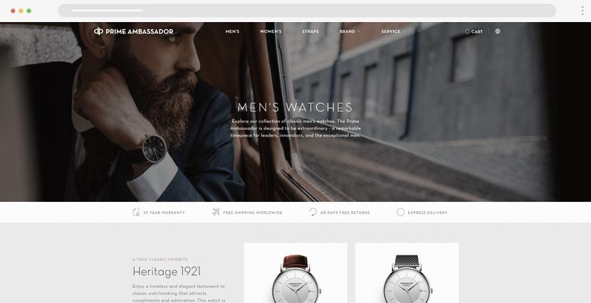 primeambassador - stylish men webstore