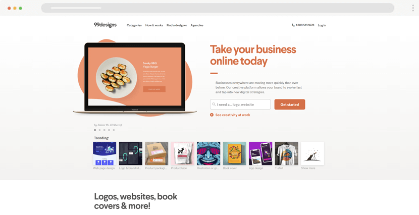 99Designs - freelaners and companies