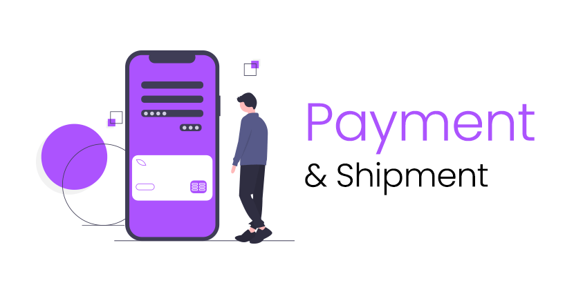 Payment and shipment service for your goods