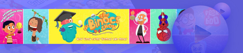 Peekaboo educational cartoon channel