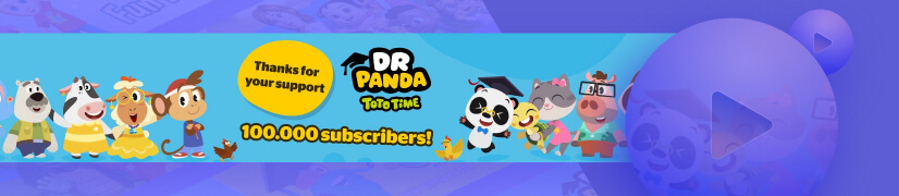 Dr. Panda Toto Time educational cartoon channel