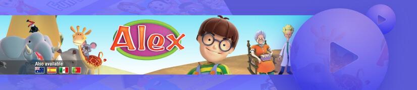 TheWorldsofAlex educational cartoon channel