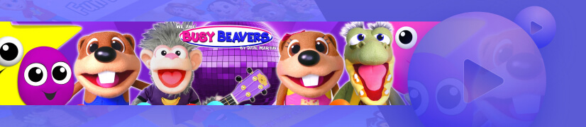 We Are Busy Beavers educational cartoon channel