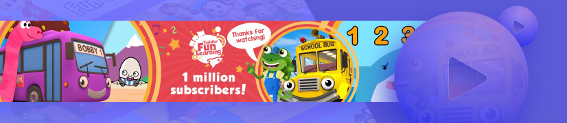 Toddler Fun Learning educational cartoon channel
