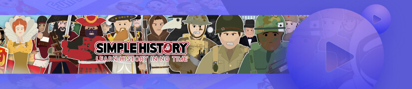 Simple History educational cartoon channel