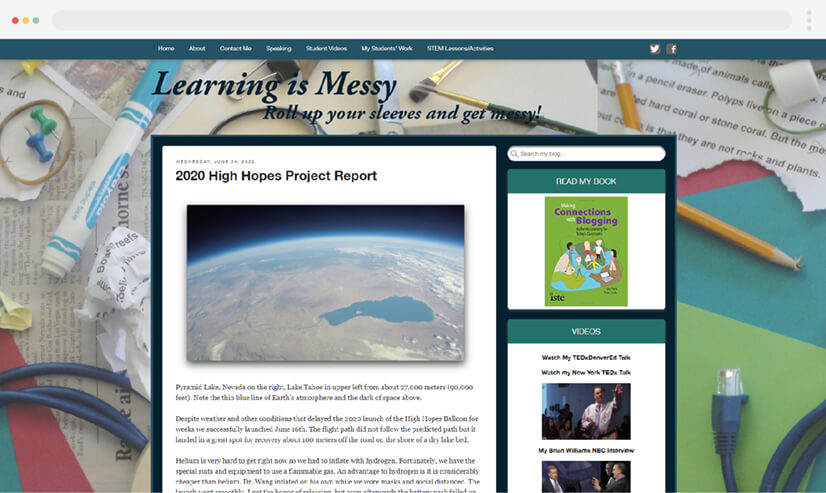 Learning Is Messy Teaching Blog