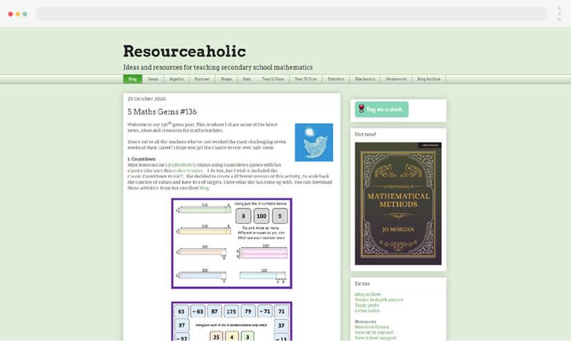 Resourceaholic Teachers Blog