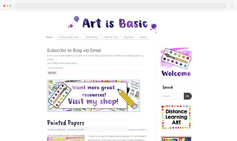 Art Is Basic Educational Blog