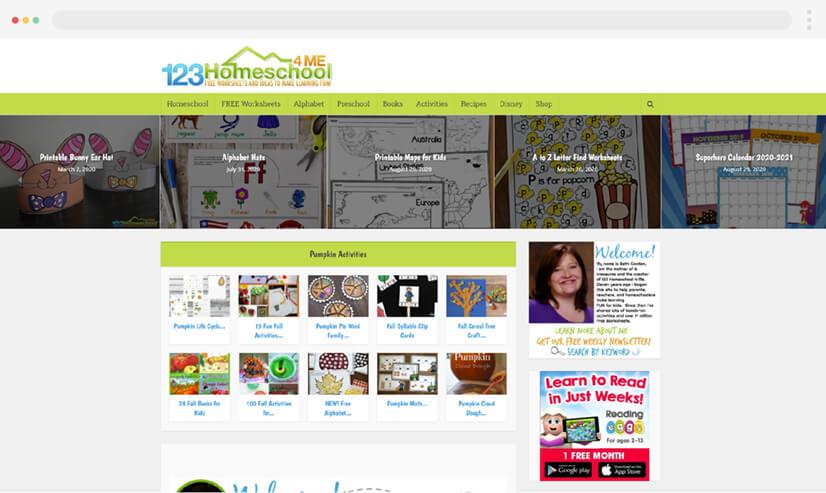 123 Home School 4 Me Blog for Teachers