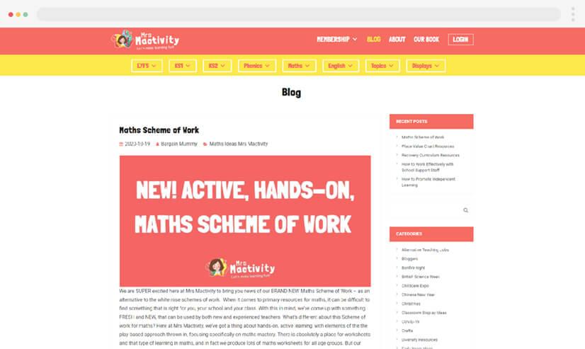 Mrs Mactivity Teaching Blog
