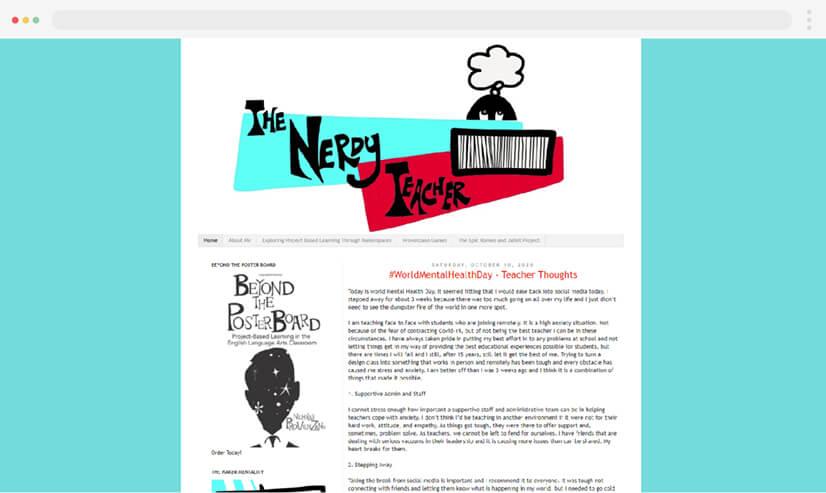 The Nerdy Teacher Blog