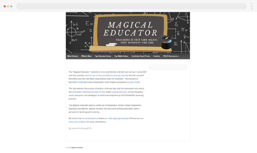 Magical Maths Teaching Blog