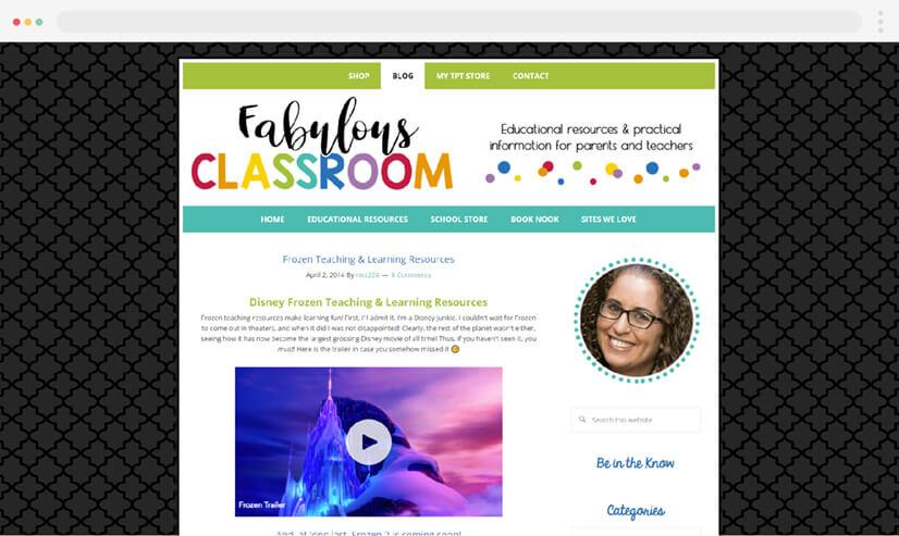 Fabulous Classroom Blog