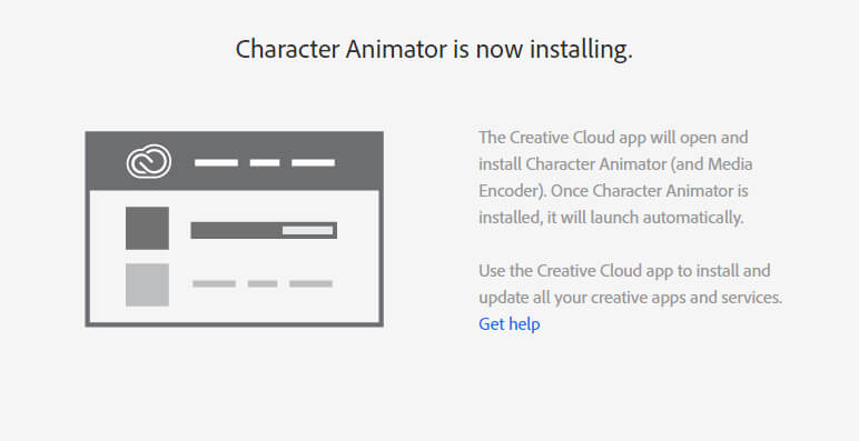 step 2: Sign in to adobe Creative Cloud
