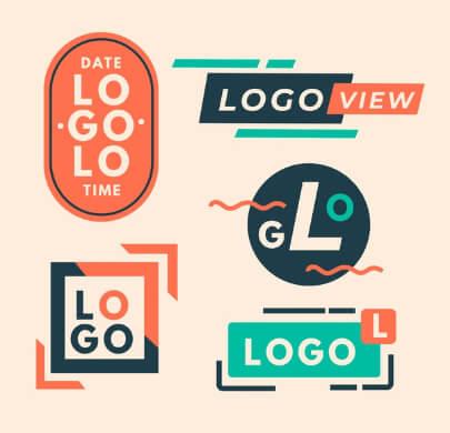 Minimal Free Logo Templates