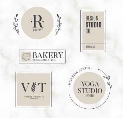 Modern Classy Free Logo Templates