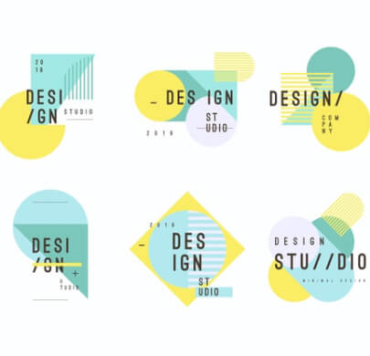 Abstract Minimalist Free Logo Templates