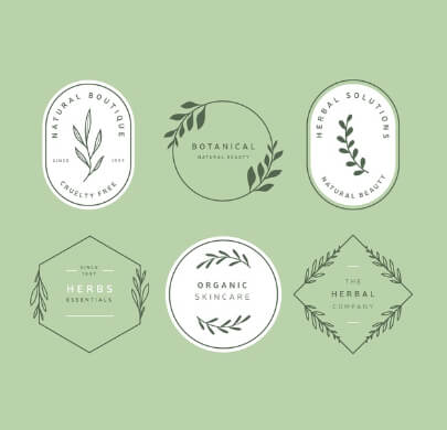 6 Floral Free Logo Templates