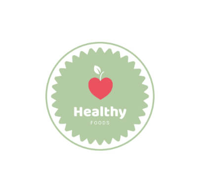 Healthy Food Free Logo Template