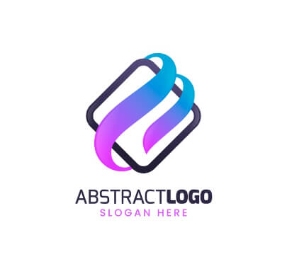 Abstract Colorful Free Logo Template