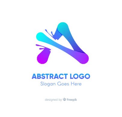 Colorful Abstract Free Logo Template