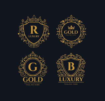 Luxury Retro Free Logo Templates