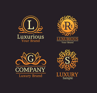 Modern Luxury Free Logo Templates
