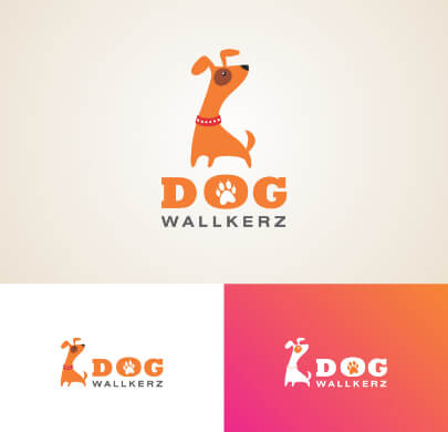 Fun Dog Free Logo Template