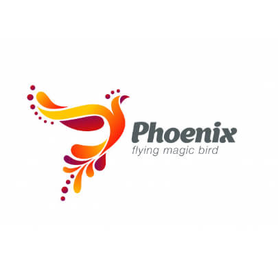 Colorful Phoenix Free Logo Templates