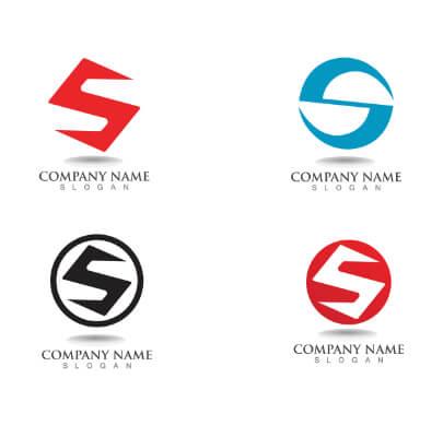 S Shape Free Logo Templates
