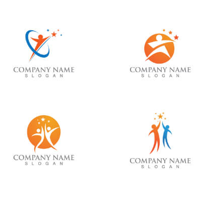 People Free Logo Templates