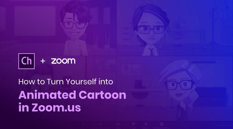 How to Turn Yourself into Animated Cartoon in Zoom.us