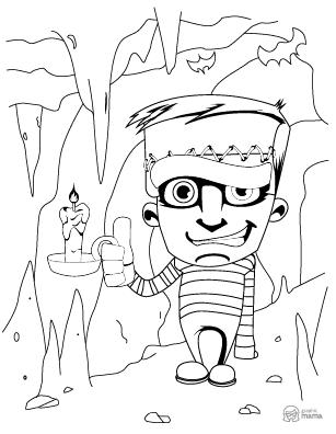 Cartoon Coloring Book 60 Free Printable Pages Pdf By Graphicmama Graphicmama Blog