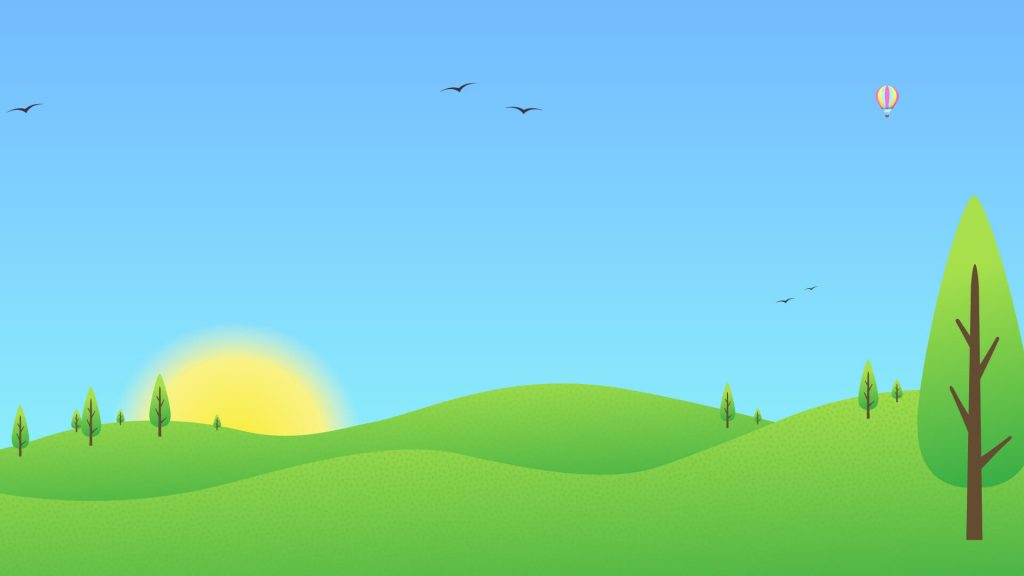 Free Landscape Background for Zoom Meetings