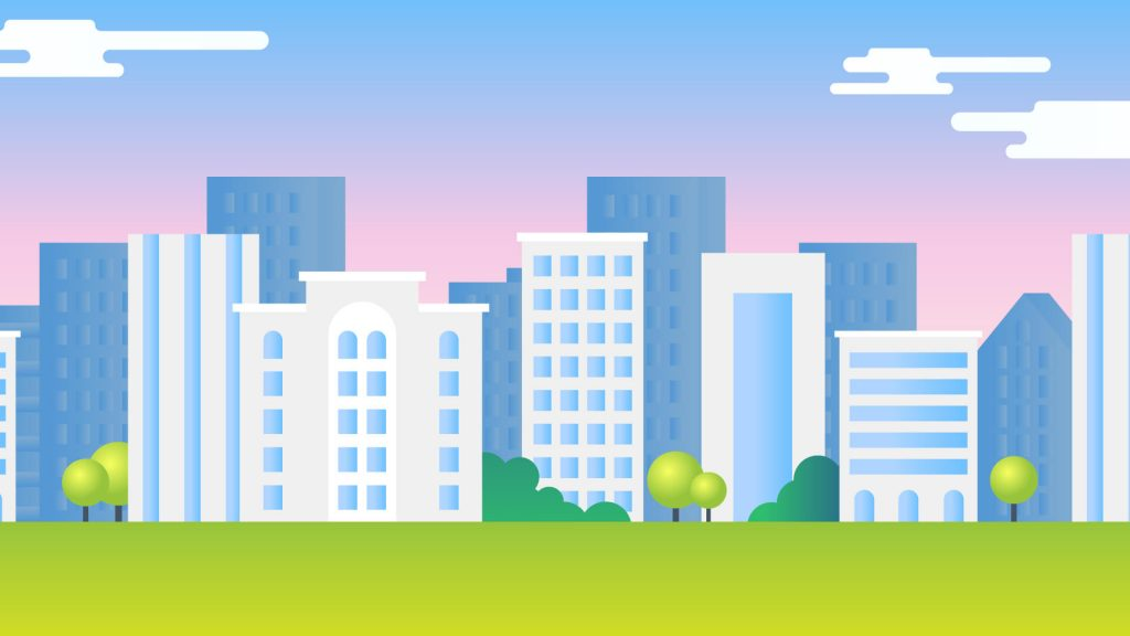 Free City Background for Zoom Meetings