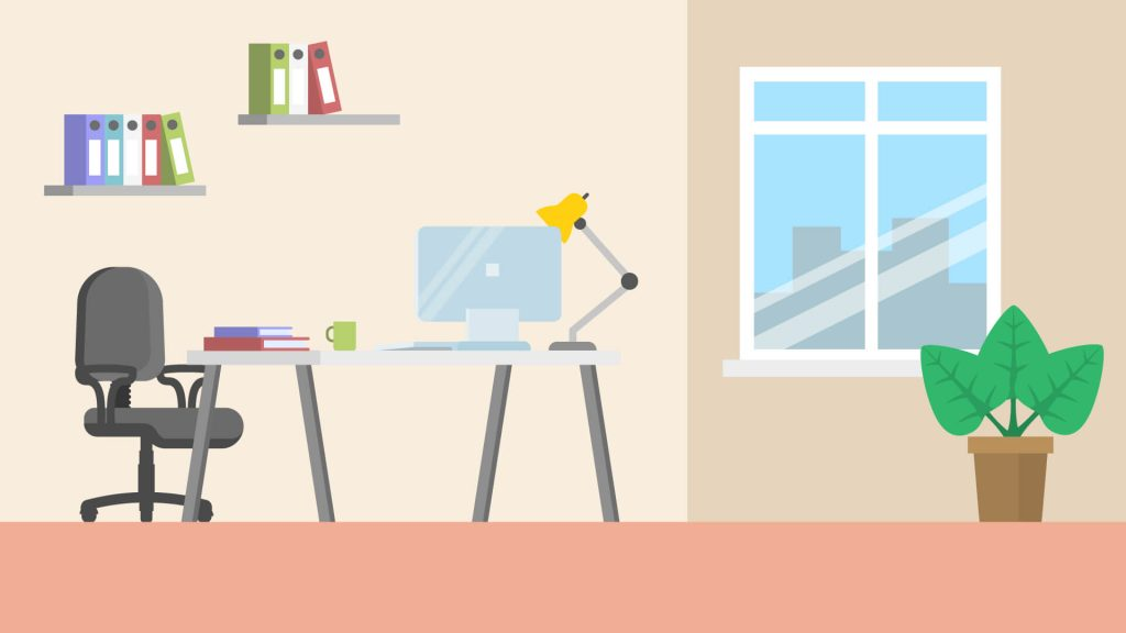 Free Office Background for Zoom Meetings