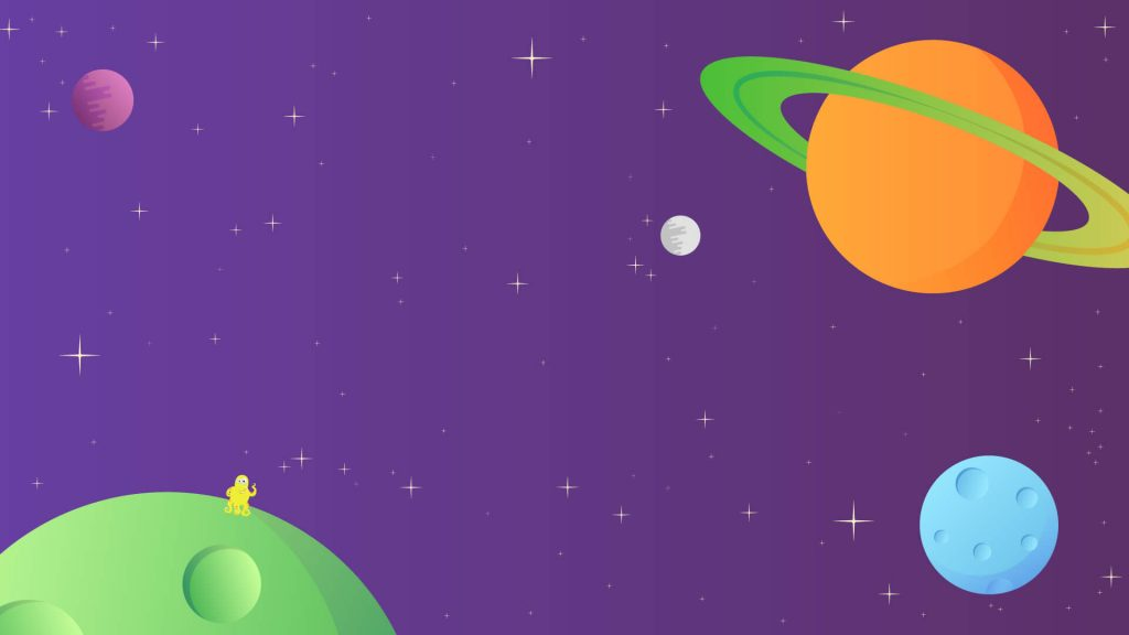 Free Space Background for Zoom Meetings