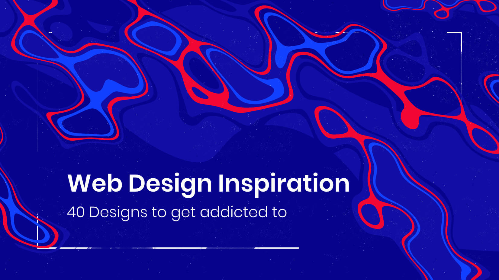 Web Design Inspiration: 40 Designs to get addicted to