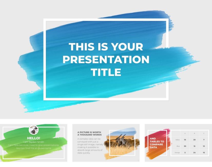 Plantillas de PowerPoint modernas gratuitas