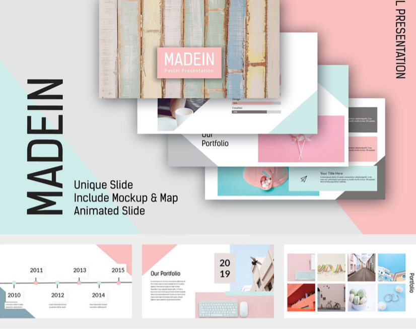 38 Free Modern Powerpoint Templates For Your Presentation Graphicmama Blog