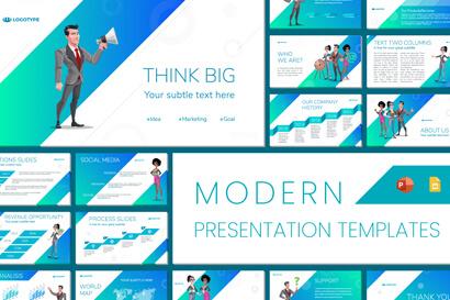 Modern PowerPoint Presentation Template