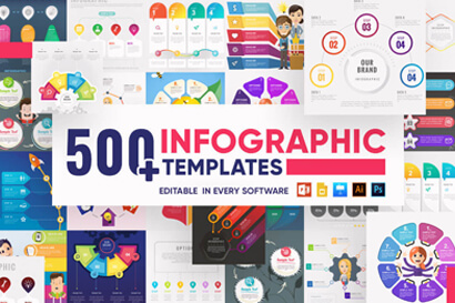 Infographic Templates Collection by GraphicMama