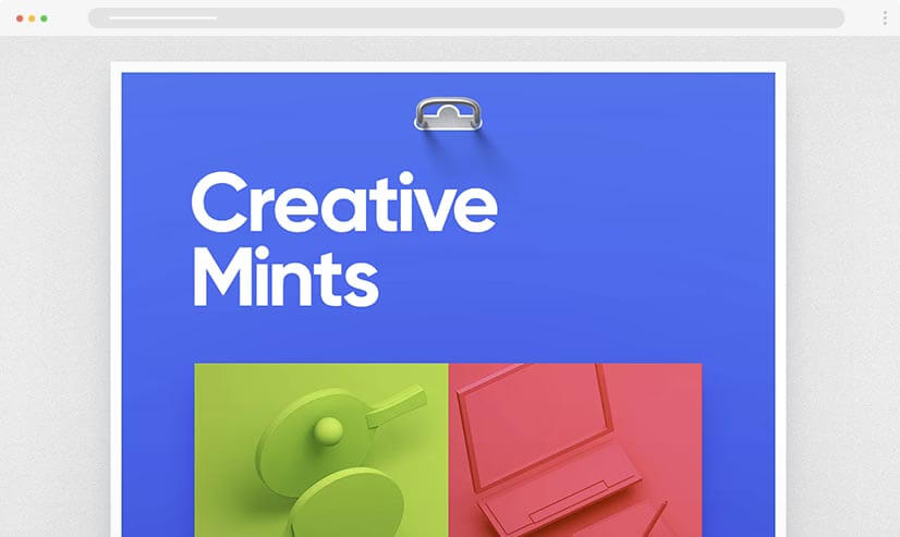 Creativemints UI UX Design Portfolio