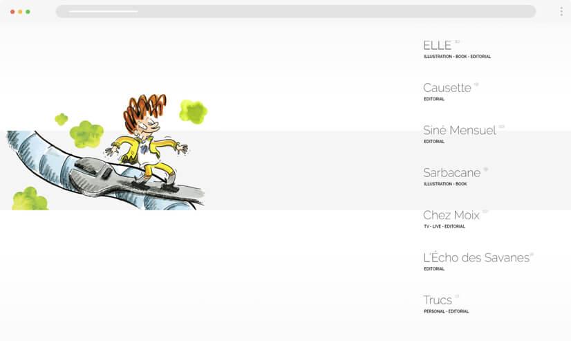 website design idea illustrations example 2