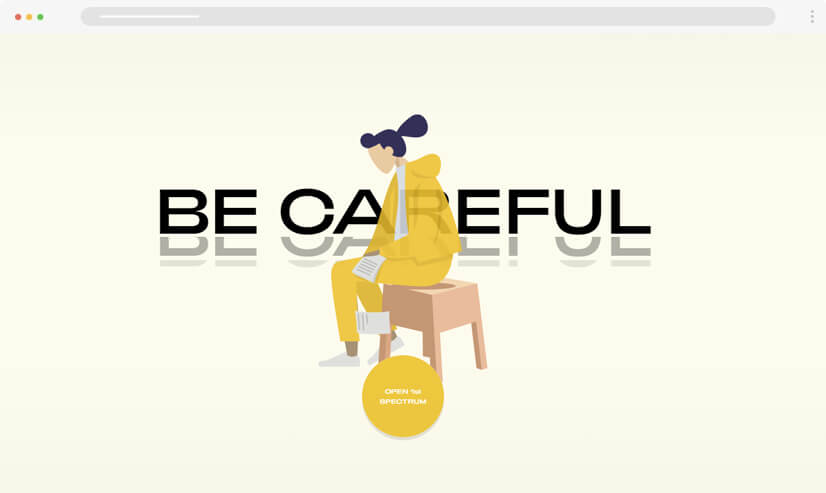 website design idea illustrations example 3