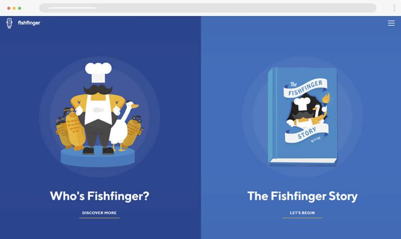 website design idea illustrations example 4