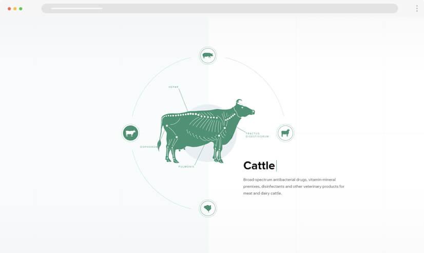 website design idea: Monochrome design - example 1