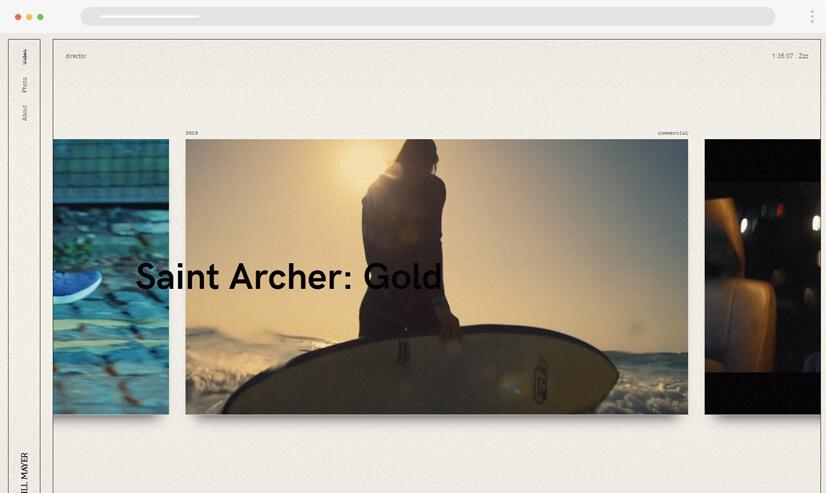 website design idea retro design - example 2